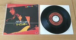 Rainbow-I-Surrender-1981-Japanese-7-034-Single-Insert-Classic-Hard-Rock