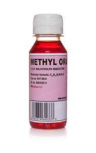 Image Is Loading 100ml Methyl Orange Indicator Solution Ph Reagent