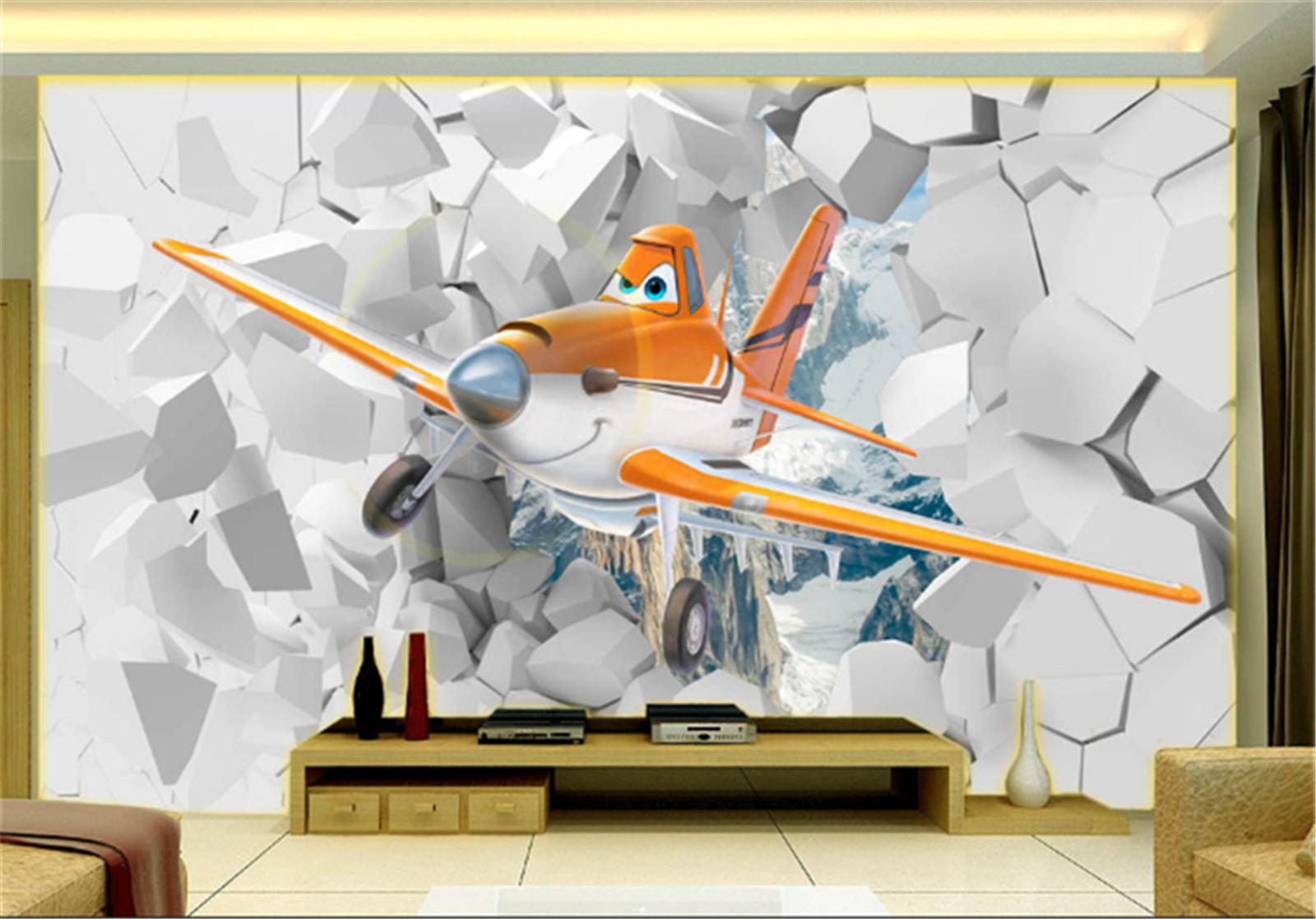 3D Karikatur Flugzeuge 688 Tapete Wandgemälde Tapeten Bild Familie DE Summer | Starker Wert  | Überlegene Qualität  | Guter weltweiter Ruf
