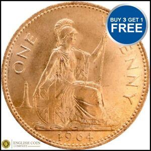 1953-et-1967-Elizabeth-II-Penny-penny-Choix-de-l-039-annee-date
