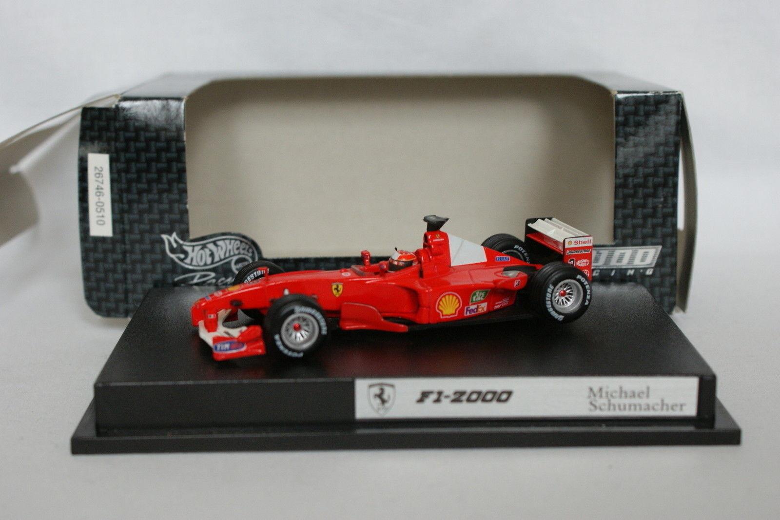 Hot Wheels 1 43 - F1 Ferrari 2000 Schumacher