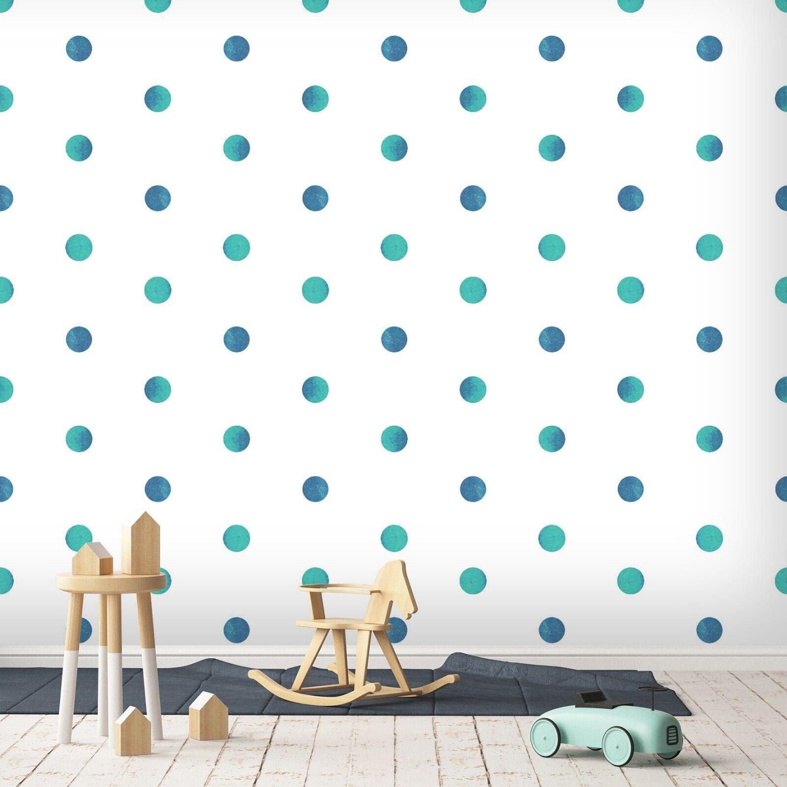3D Blau Punkt 757 Tapete Wandgemälde Tapete Tapeten Bild Familie DE Lemon