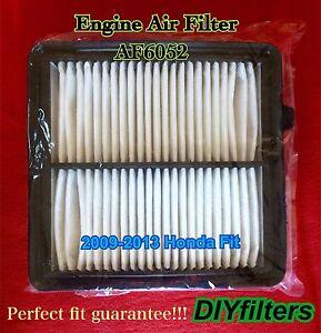 Af6052 Premium Engine Air Filter For 2009 2010 2011 2012