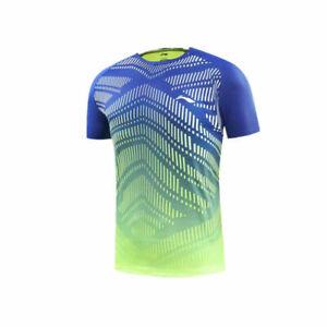 2019-New-Li-Ning-Men-039-s-Tops-Sportswear-Clothing-badminton-table-tennis-T-shirt