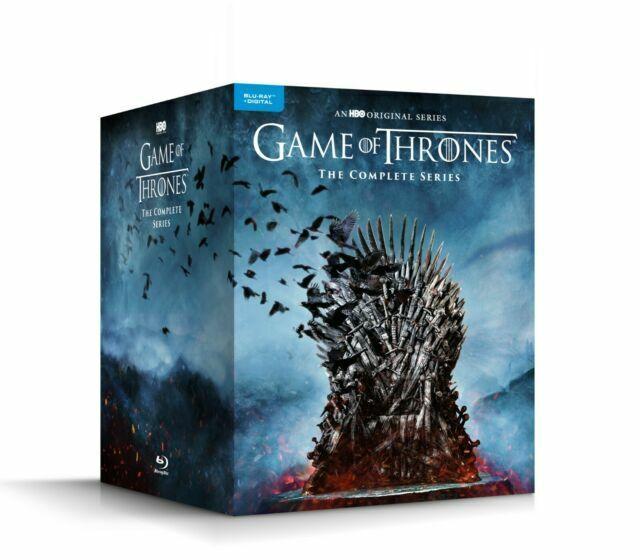 HBO Game of Thrones Complete Series Seasons(2019, Blu Ray)