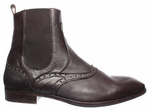 Men-039-s-Ankle-Boots-Shoes-RICHMOND-1537-Older-TMoro-Leather-Brown-Made-Italy-New