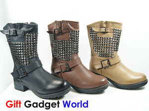 Sexy ladies motorcycle boots