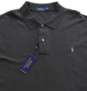 387c22a5 Men's POLO RALPH LAUREN Dark Carbon Gray POLO Shirt S Small Classic ...