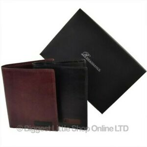 Mens-Leather-Compact-Shirt-Wallet-by-Renaissance-Gift-Boxed-Credit-Cards