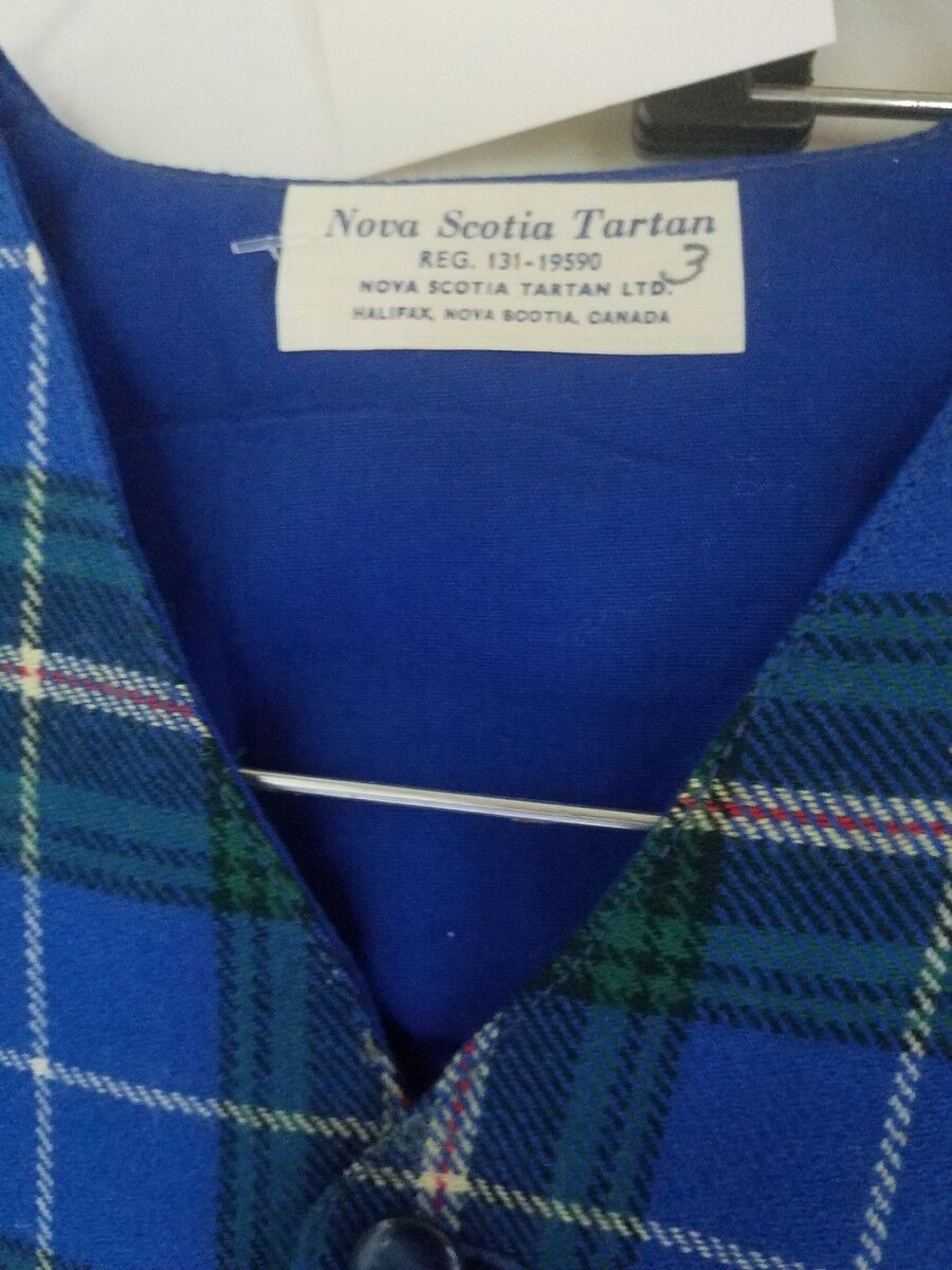 Vintage Boy's Vest and Long Pants Nova Scotia Tar… - image 11