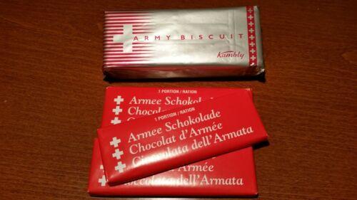 Swiss meal militaire de biscuit Chocolat Suisse militaire de chocolat prêt à manger International