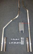 94-01 Dodge Ram 1500 2500 Dual Exhaust Mandrel Bent
