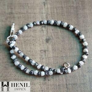 Natural Color Diamond Beads Natural Loose Diamond Beads Wt Silver Clap Diamond Beads 8.00 Carat Color Natural Rough Diamond Bracelet