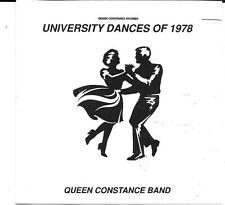 QUEEN CONSTANCE BAND University Dances Of 1978 CD P & P INNER LIFE PATRICK ADAMS