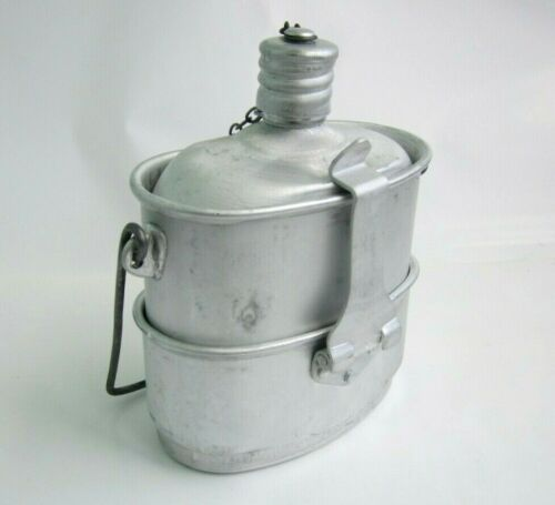 Military Soviet Russian Red Army Combined Set VDV Lunch Box Food Cup Bowl Kettle