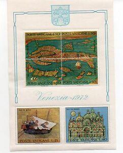 Vatican-1972-Save-Venice-Minisheet-MNH
