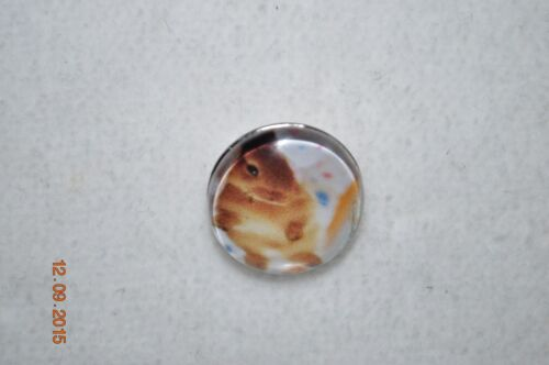 snap button metal charm Bunny charms for snap button leather bracelets 18-19MM