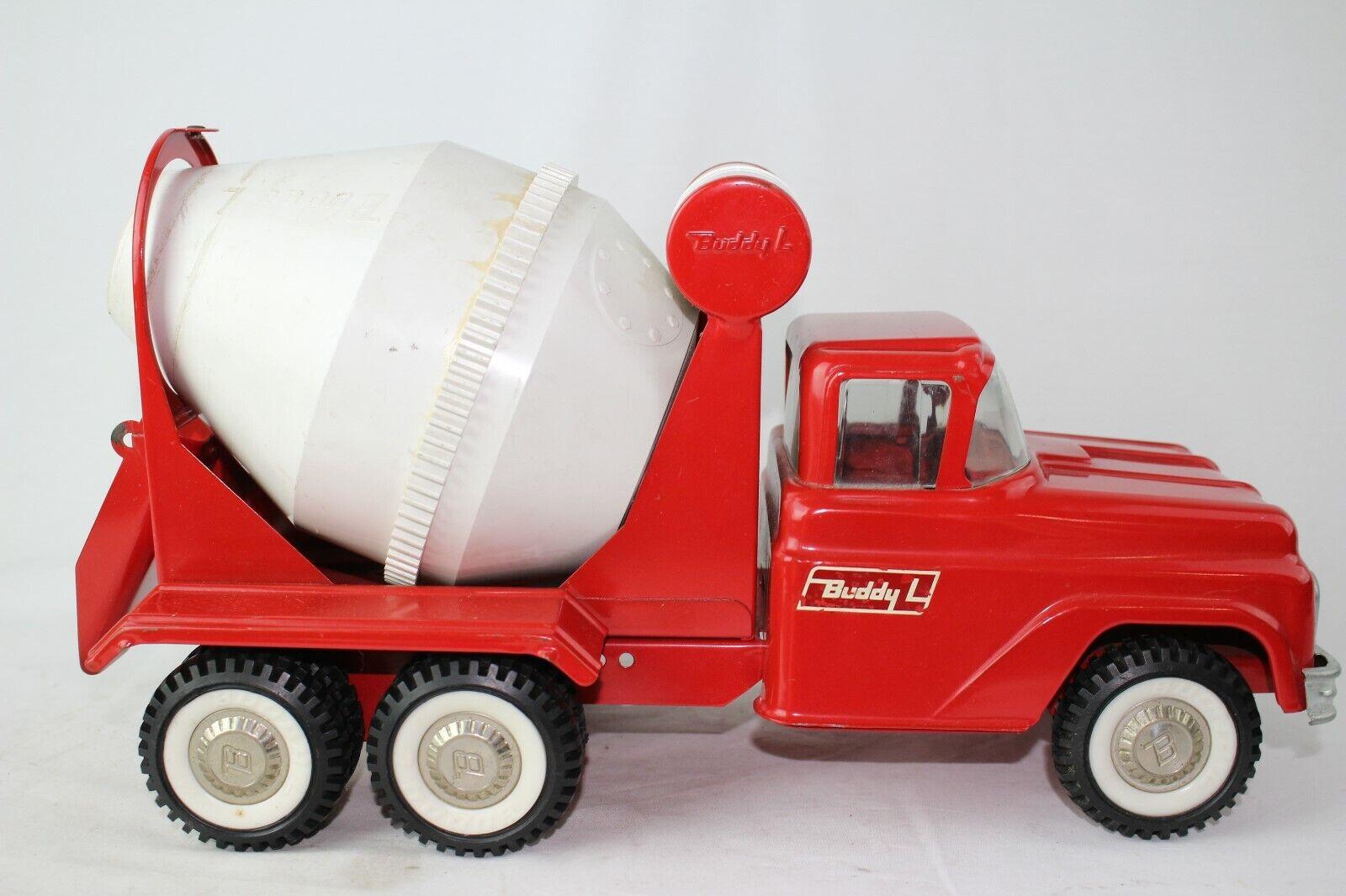1960's Buddy L Ford Cement Mixer Truck, Nice Original