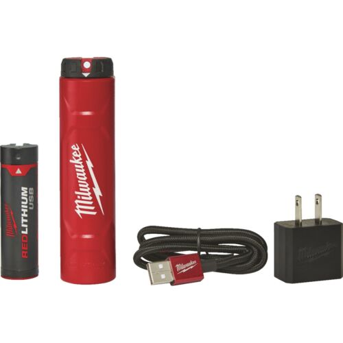Milwaukee Li-Ion USB Rechargeable Battery /& Charger Kit