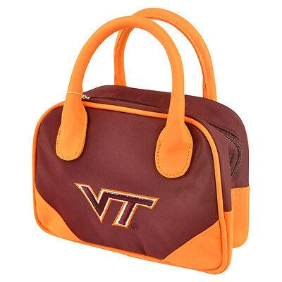 Weitere Ballsportarten Ncaa Virginia Tech Hokies Mini Bowler Handtasche Zweifarbig Damen Zubehör Quell Sommer Durst