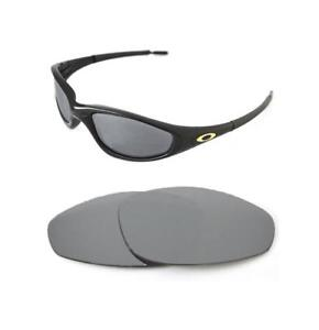 Image is loading NEW-POLARIZED-CUSTOM-SILVER-LENS-FOR-OAKLEY-STRAIGHT- 8fc74aa86f