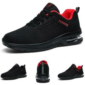 Mens Leisure Sneakers Shoes Outdoor Walking Sports Gym Running Non-slip Casual B
