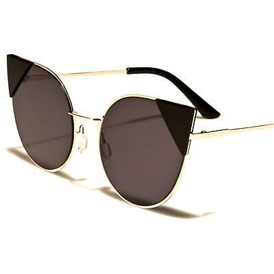 Tortoise Gold Classic Vintage Retro Fashion Stylish Womens CatEye Sunglasses F72