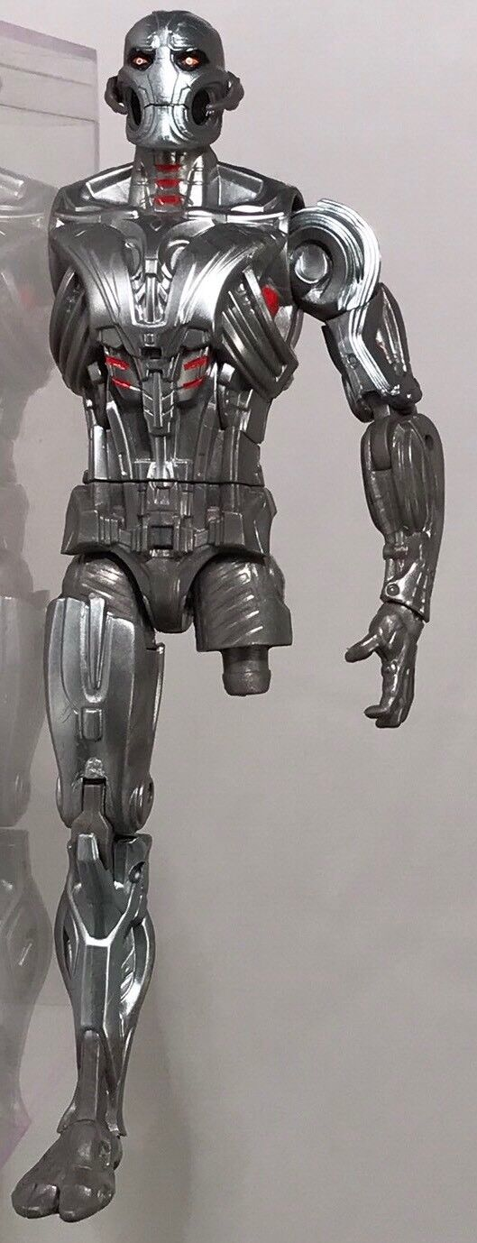 "Marvel Legends Ultron 6"" BAF Figure Near Complete Head Left Arm Right Leg Torso"