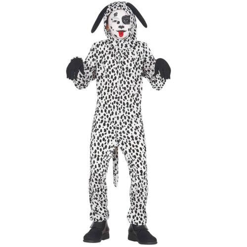 Dalmatiner-Kostüm für Kinder Hündchen Overall Hundekostüm Tierkostüm Hund Jungen