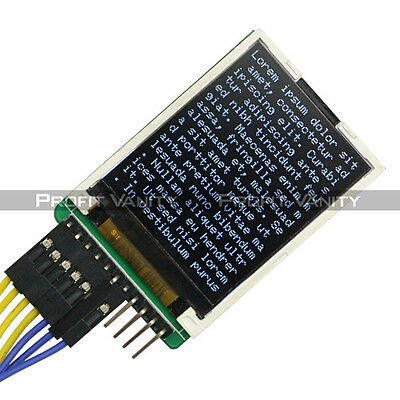 "1.8"" Serial 128X160 SPI TFT LCD Display + SD Socket for Arduino Raspberry Pi DE."