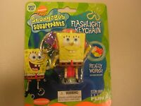SpongeBob Squarepants Flashlight Keychain-Nickelodeon