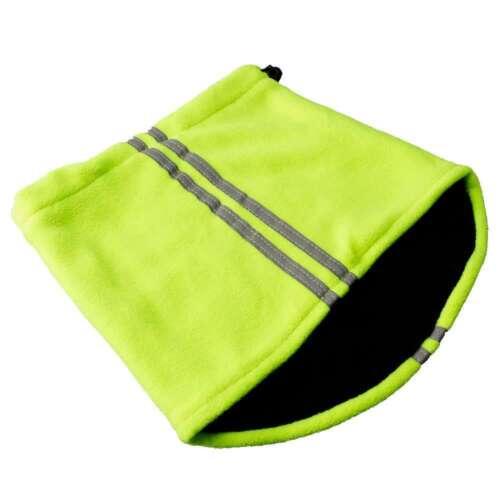 Proclimate Hi Vis Winter Work Set Beanie Neck Warmer Gripper Gloves
