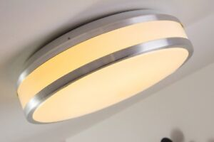 LED Deckenleuchte Design Lampe Deckenlampe Badezimmer Bad 18 Watt ...