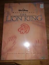 a Walt Disney Masterpiece The Lion King Deluxe Video Edition