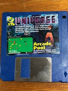 Amiga-Format-Magazine-Cover-Disk-57b-Universe-TESTED-WORKING