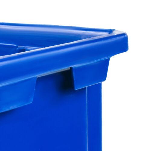 20 x Lagerboxen Stapelboxen Sichtlagerkasten Eco Box Blau 170x115x75