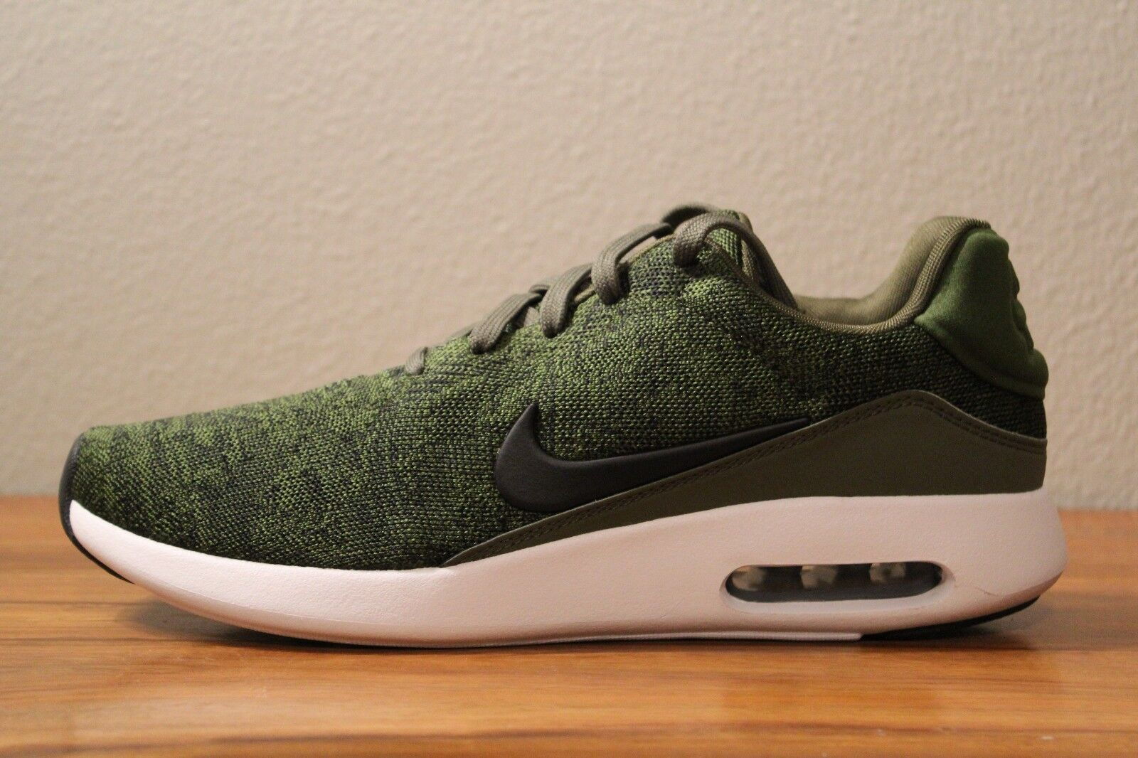 16 Sizes New Nike Air Max Modern Flyknit Green Men's Sizes 16 9.5, 10 876066 300 3f3435