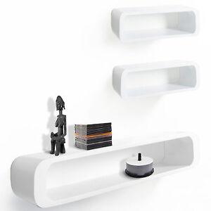 Wandregal modern  NEU Wandregal | LENNON 3-teilig | Cuberegal CD-Regal Regal modern ...