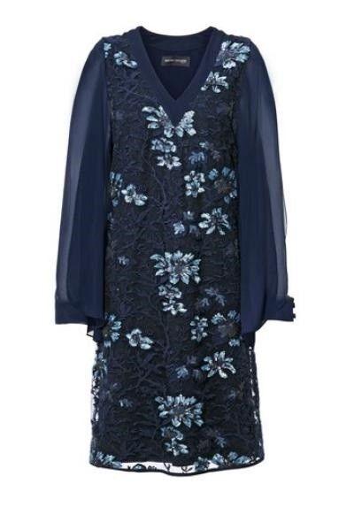 Kleid, Paillettenkleid, Ashley Brooke, Gr.40,44