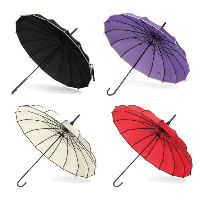 Women/'s Colorful Pagoda Vintage Umbrella Windproof UV Parasol Rain Umbrella