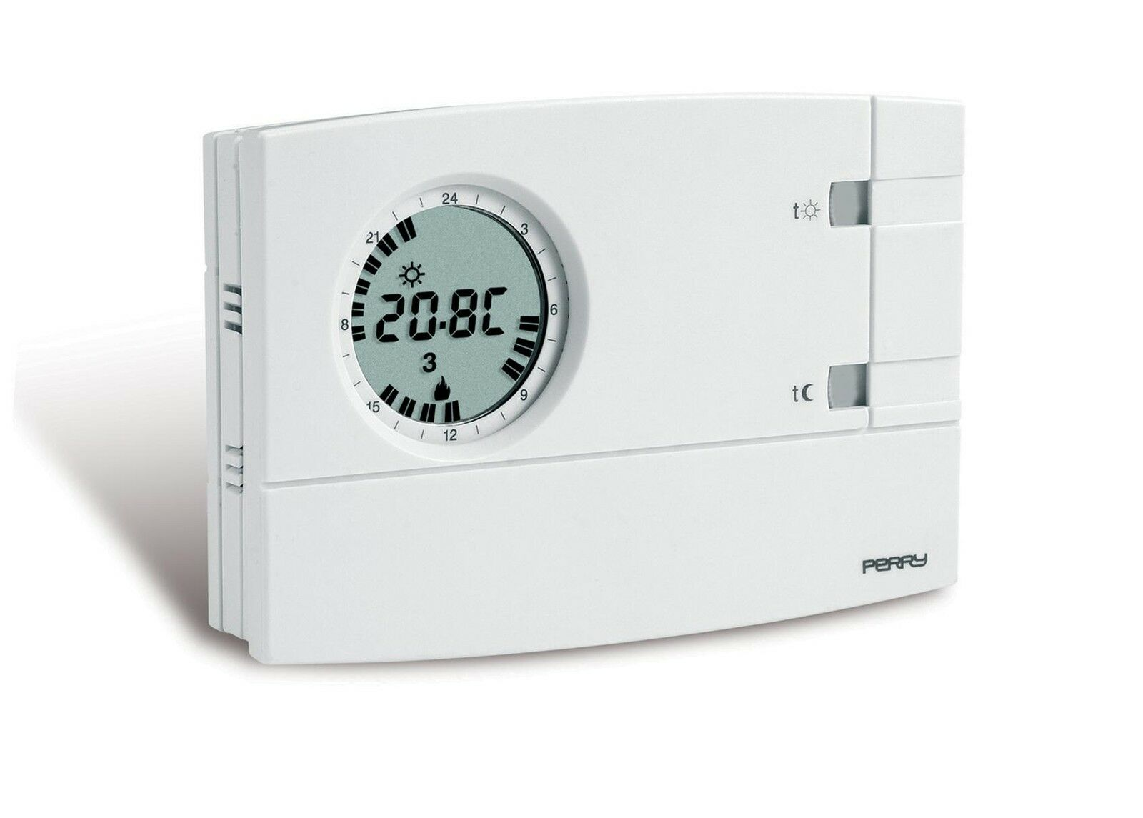 1CRCR309 S PERRY ELECTRIC 1CRCR309 S    CRONOTERMOSTATO DIGITALE AMBIENTE 3V SER