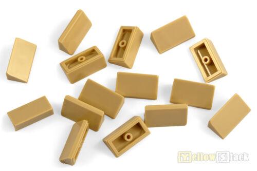 15x LEGO® 85984 Schrägstein//Dachstein 30° 1x2x2//3 beige//sandfarben NEU tan slope