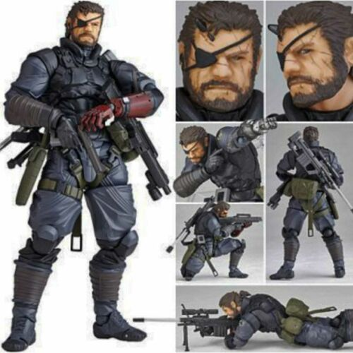 Metal Gear Solid V Phantom Pain Venom Snake PVC Action Figure Toys Xmas Gift USA