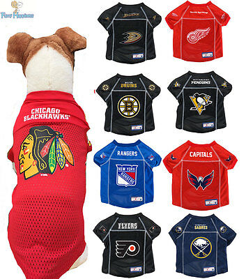 Let Your Pet Be A Real NHL Fan! Large NHL Anaheim Ducks Jersey for Dogs /& Cats