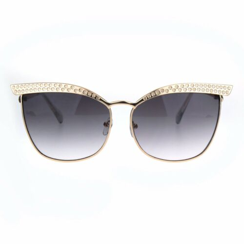 Womens Fashion Sunglasses Square Cateye Butterfly Metal Frame UV 400