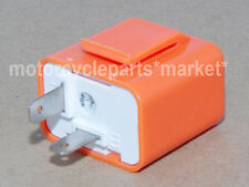 12V 2-Pin Speed Adjustable LED Flasher Relay Turn Signal Hyper Indicator Harley