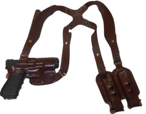 Leather Shoulder Gun Holster LH RH For Ruger GP-100 4 Inch