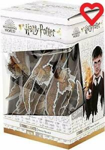 Harry Potter String Lights 12 Battery Operated LED'S Hedwig Design Hogwarts