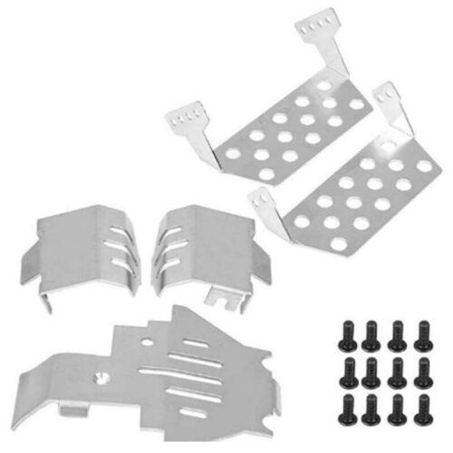 RC Voiture pour TRX4 TRX-4 Châssis de Protection Pare-Chocs Plaque de Prote T2T5