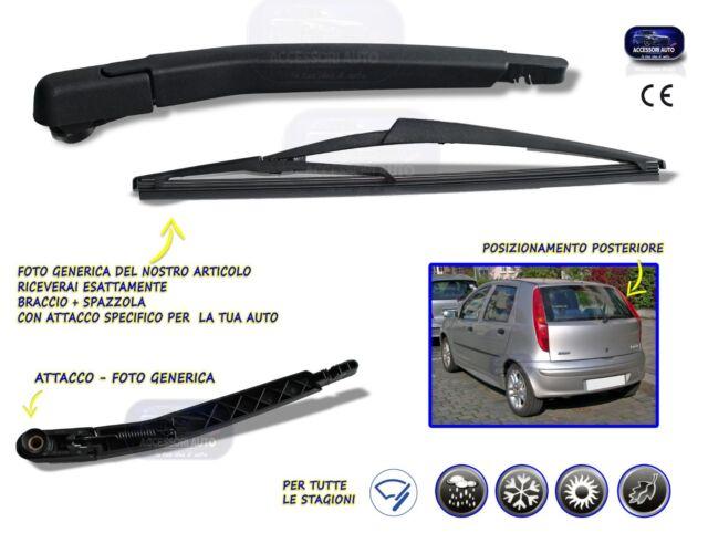 KIT 2 SPAZZOLE TERGICRISTALLO TERGI VALEO PER FIAT GRANDE PUNTO 5P DAL 2005 />